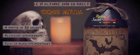 "Metal""o""ween 31 octobre 2018"